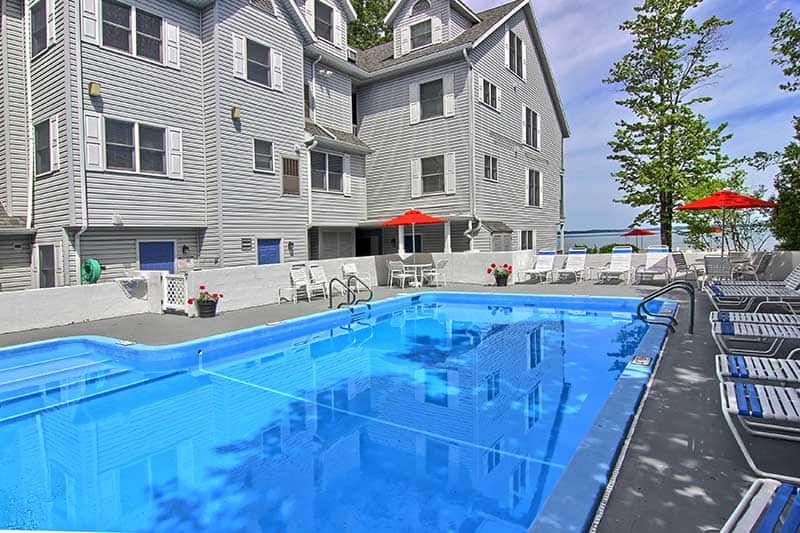 north shore inn pool